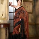 Bollywood Designer Partywear Bridal Wedding Embroidered Sarees Sari - RS 801