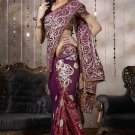Bollywood Designer Partywear Bridal Wedding Embroidered Sarees Sari - RS 1135
