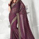 Bollywood Saree Designer Indian Party WEar Sari - X2403