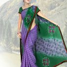 Indian Faux Georgette Wedding Embroidered Saris Sarees With Blouse - HZ 1003b N