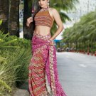 Bollywood Saree Designer Indian Party Wear Sari - X2485