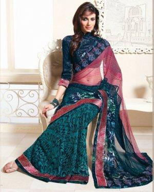 Bollywood Saree Designer Indian Party WEar Sari - X2418
