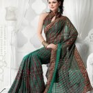 Bollywood Saree Designer Indian Party WEar Sari - X2405