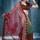 Bollywood Net Viscose Bridal Embroidered Sarees Sari With Blouse - X 517