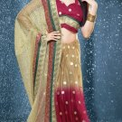 Bollywood Net Bridal Embroidered Sarees Sari With Blouse - X 526