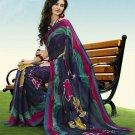 Indian Designer Wedding  Bollywood  Sari Printed Saree  - X 774a