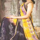 Indian Bollywood Printed Designer Partywear Casual Saree Sari - X 236a