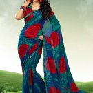 Indian Bollywood Designer Exclusive Printed saree sari - Nt123-b
