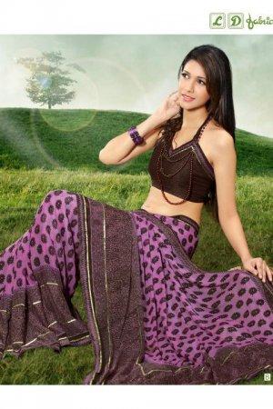 Indian Bollywood Designer Exclusive Printed saree sari - Nt109-b