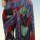 Indian Designer Wedding  Bollywood  Sari Printed Saree  - X 758a