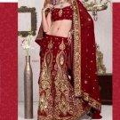 Indian Bollywood Designer Heavy Embroidery Saree Sari - TS10020