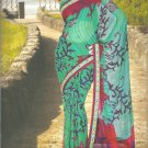 Indian Bollywood Printed Designer Partywear Casual Saree Sari - X 233b