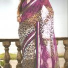 Indian Bollywood Printed Designer Partywear Casual Saree Sari - X 228a