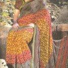 Indian Bollywood Printed Designer Partywear Casual Saree Sari - X 228b