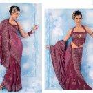 Bollywood Saree Designer Indian Party Wear Sari - X2489