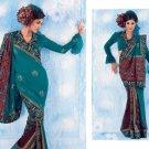 Bollywood Saree Designer Indian Party Wear Sari - X2498