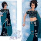Bollywood Saree Designer Indian Party Wear Sari - X2492