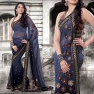 Indian Bollywood Designer Embroidery Saree Sari - 807