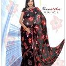 Indian Bollywood Designer Embroidered Saree Sari - X kunalika
