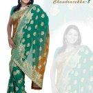 Indian Bollywood Designer Embroidered Saree Sari - X chandralekha8