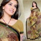 Indian Bollywood Designer Bridal Embroidered Sarees Sari - HZ969