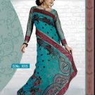 Indian Bollywood Designer Embroidery Saree Sari - RC1015