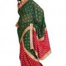 Indian Bollywood Designer Embroidered Saree Sari - X kanya2