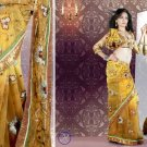 Indian Bollywood Designer Bridal Embroidered Sarees Sari - HZ958