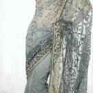 Indian / Pakistani Designer Wedding Bridal Gorgeous Work Saree Sari - X 240