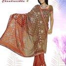 Indian Bollywood Designer Embroidered Saree Sari - X chandralekha4