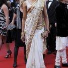 Indian Bollywood Designer Embroidered Deepika Sarees Sari - RS2004