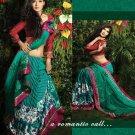 Indian / Pakistani Designer Bollywood Printed Light Work Saree Sari - X 1403