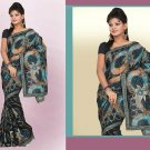 Indian Bollywood Designer Embroidered Saree Sari - X kalpana