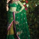 Indian / Pakistani Designer Bollywood Printed Light Work Saree Sari - X 1422