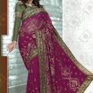Indian Bollywood Designer Embroidery Saree Sari - RC1012