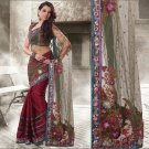 Indian Bollywood Designer Embroidery Saree Sari - 801