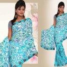 Indian Bollywood Designer Embroidered Saree Sari - X kaveri