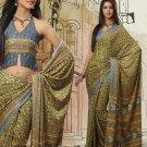 Saree Sari Indian Bollywood Designer Jacquard Fancy - x 7950a