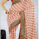 Party Wear Indian Look Sari Royal Look Traditional Sari Saree - X 411B