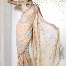Saree Sari Indian Bollywood Designer Embroidered Fancy - X 314