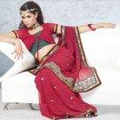 Party Wear Indian Look Sari Royal Look Traditional Sari Saree - X 421B