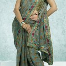 Party Wear Indian Look Sari Royal Look Traditional Sari Saree - X 409A