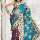 Sarees Sari Indian Bollywood Designer Embroidered Fancy Saris - x parneeta