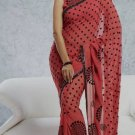 Party Wear Indian Look Sari Royal Look Traditional Sari Saree - X 402