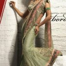 Saree Sari Indian Bollywood Designer Embroidered Fancy - X 527