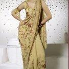 Saree Sari Indian Bollywood Designer Embroidered Fancy - X 305