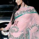 Indian Womens Clothing Saree Embroidered Saree Sari - X15007A