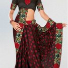Indian Saree Bollywood Designer Bridal Wedding Sari Embroidery  - X 1256