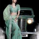 Indian Womens Clothing Saree Embroidered Saree Sari - X15003A