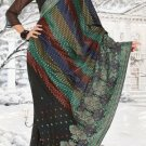 Indian Saree Bollywood Designer Bridal Wedding Sari Embroidery  - X 1285